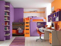 Kids Bedroom Paint Ideas Kids Room Bedroom Astounding Minimalist Purple And Orange