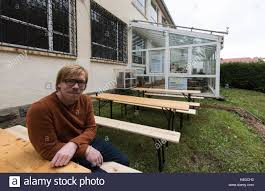 donaueschingen germany 15th oct 2016 hannes seidl sits in a