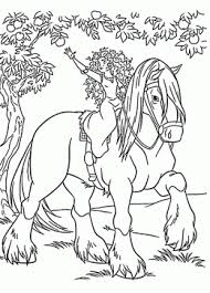 horse coloring pages kids prinable free horse printables