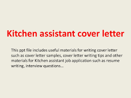 ideas collection example cover letter for kitchen job for sample