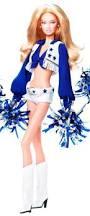 Cowboys Cheerleader Halloween Costume Amazon Dallas Cowboys Cheerleaders Barbie Collector Doll