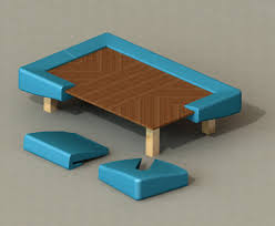 coffee tables japanese living room square table on rug bedroom