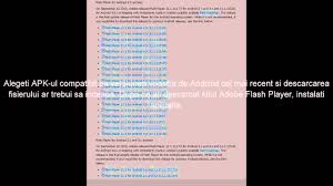 adobe flash player 11 1 for android sa instalezi flash player pe android