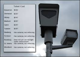 traffic light camera ticket right on red full stop or expect a ticket news opb