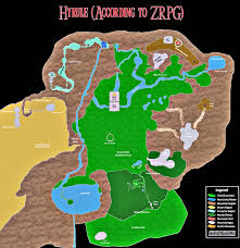 Map Of Hyrule Zrpg Archive U2022 View Topic Map Of Hyrule
