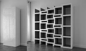 White Room Divider Bookcase by Best Room Dividers Eight Shape Wooden Bookshelves As Ideas Living