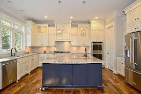 kitchens with different colored islands appliance kitchen island different color your kitchen