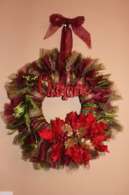 christmas wreath tulle and voile crafts pinterest wreaths
