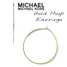 whisper earrings 79 michael michael kors jewelry michael kors small whisper