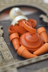 wall decor made of wood wooden wall hanging paper quilled wall decor ganpati material