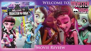 Powder Room Film Welcome To Monster High Movie Review Youtube