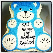 teddy bear ice cream cake party food melbourne
