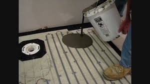 using edge strip kits to install warmup loose wire electric floor