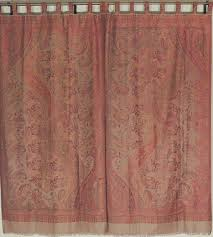 paisley window panels woven exclusive curtains from india novahaat