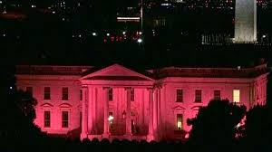 white house to glow pink for national breast cancer awareness
