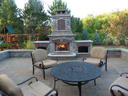 Outdoor Chimney Fireplace by Outdoor Fireplaces U0026 Fire Pits Company Brighton Michigan