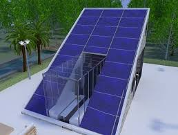 Perfect Solar Energy House On The Roof Intended Design - Solar powered home designs