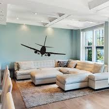 airplane home decor airplane wall decals aviation wall decor jumbo jetliner vinyl wall