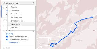 Map A Route Google by Jlord Kml From Google Maps