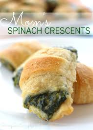 best spinach appetizer recipe mom u0027s spinach crescents