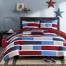 American Flag Bed In A Bag Bed Patriotic Bedspreads American Flag Duvet Cover Set American