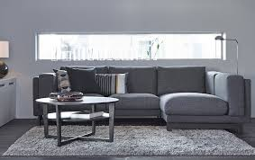 Ikea Gray Sofa by There U0027s Plenty Of Room For Everyone To Sit Comfortably Thanks To