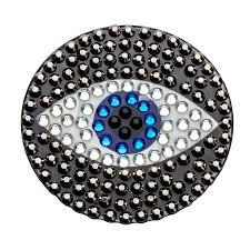 evil eye stickers rhinestone stickers stickerbeans