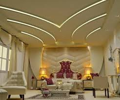 sparkling led lighting for luxurious bedroom ideas with plastered