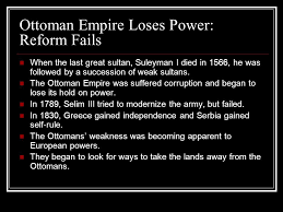 Ottoman Reform The Age Of Imperialism Chapter Eleven Ppt