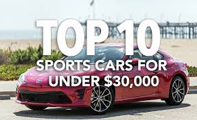 sports cars 10 best sports cars 30 000 autoguide com