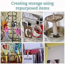 homeroad craft room with unique storage ideas