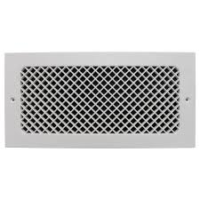 Decorative Return Air Grill Smi Ventilation Products Essex Wall Mount 6 In X 14 In Opening