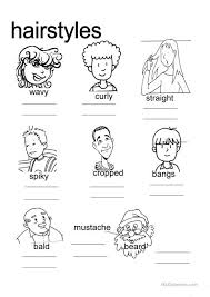 hair style esl hair styles worksheet free esl projectable worksheets made by teachers