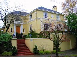 captivating luxury hillside homes design having buttery yellow