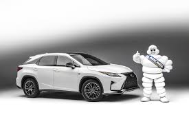 lexus crossover 2016 michelin u0027s innovative premier tires to come on new 2016 lexus rx