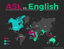 World Language Map by Sign Language A Complicated World Passport Atlas Lens
