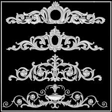 444 best pattern details images on rococo plaster and