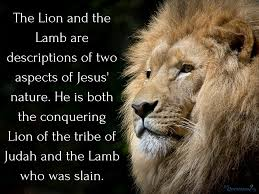 how should we understand the lion and the lamb passage