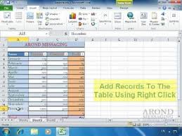 convert the table to a normal range using excel 2010 convert a range to a table youtube