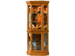 fresh black and cherry curio cabinet 6029