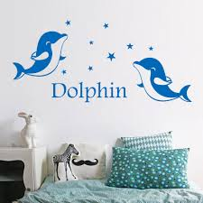 online buy wholesale dolphin wall decals from china dolphin wall
