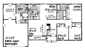 simple one story house floor plan house and home design