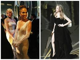 odd moments at oscars 2012 such as angelina jolie u0027s right leg