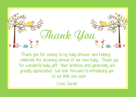 baby thank you notes excellent thank you note from baby for baby shower gift 21 on baby