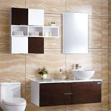 china oppein black oak high gloss lacquer mdf bathroom cabinets