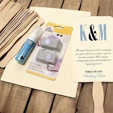 diy wedding program fan wedding program fan kit cool color choices at craftysticks diy