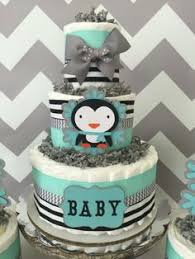 Penguin Baby Shower Decorations Penguin Baby Shower Ideas Carnation Centerpieces Mama J U0027s
