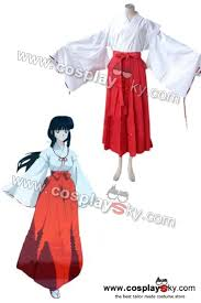 inuyasha kikyo cosplay costume cosplaysky com