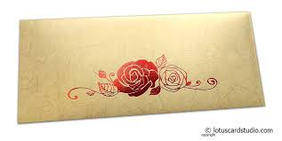 perfumed designer money envelopes in beige with foil
