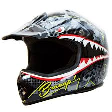 motocross helmet goggles amazon com iv2 youth kid brap bomber shark bomber motocross